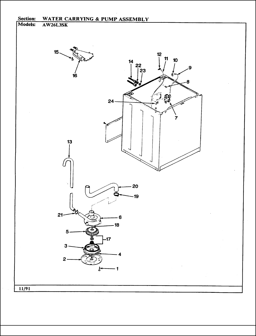 Page 6 of Maytag Washer AW26L3HSK User Guide