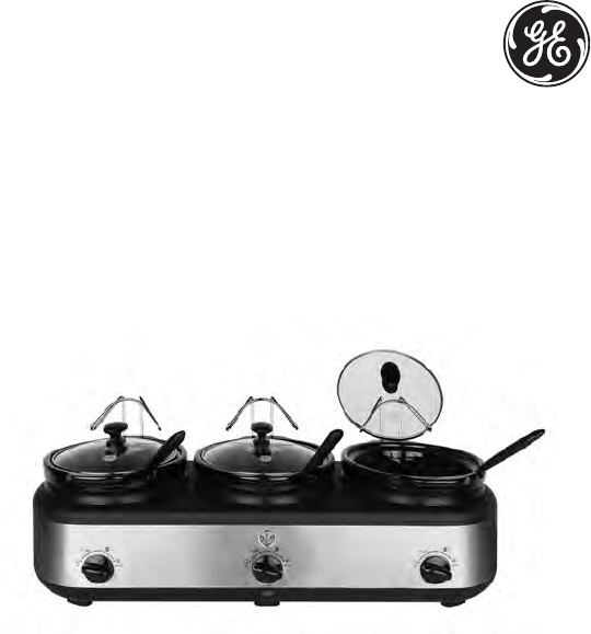 Ge Slow Cooker 898680 User Guide