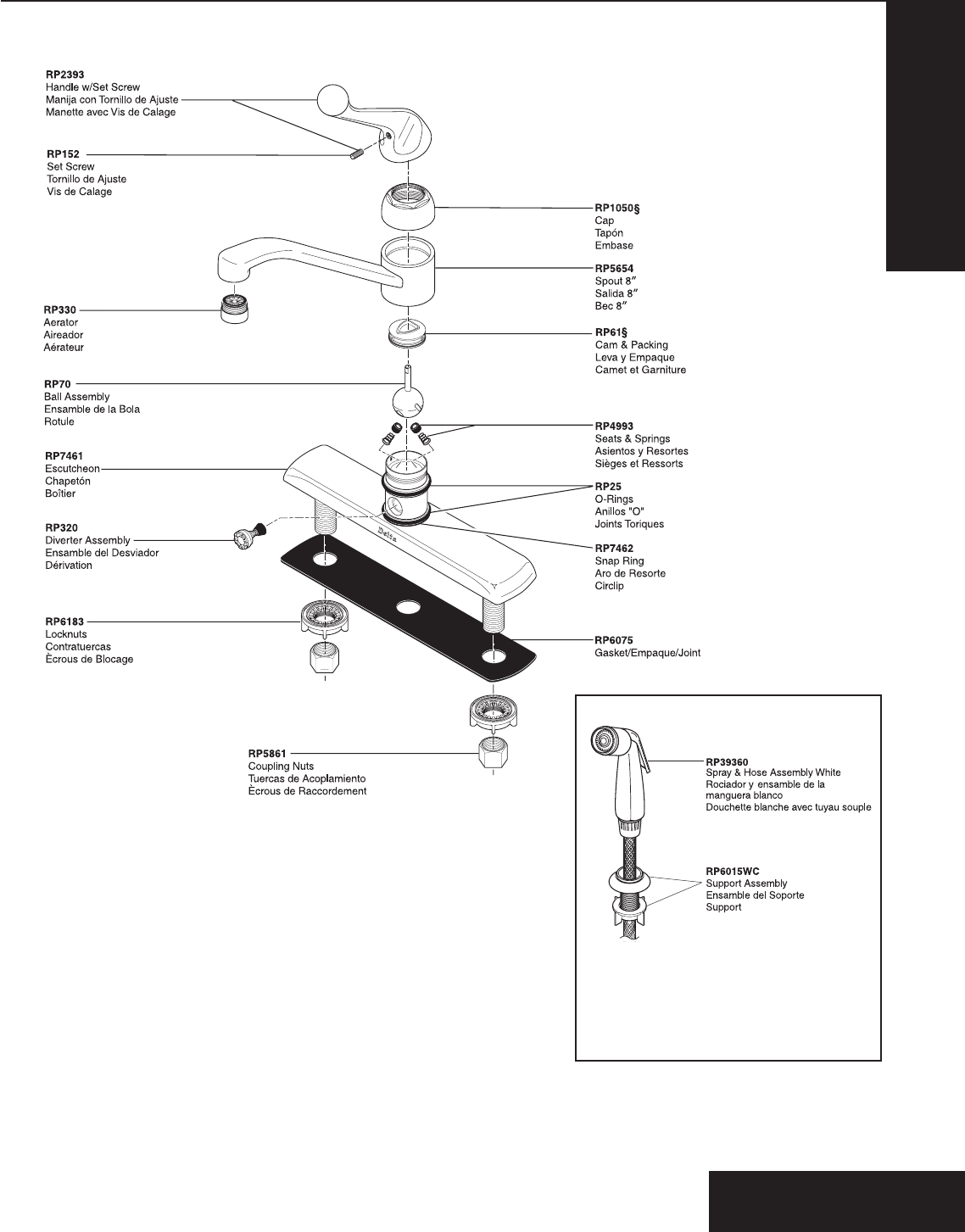 Delta Plumbing Product 120 Series User Guide