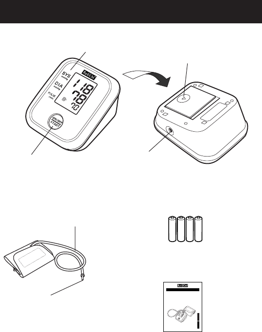 Page 8 of ReliOn Blood Pressure Monitor 7100REL User Guide