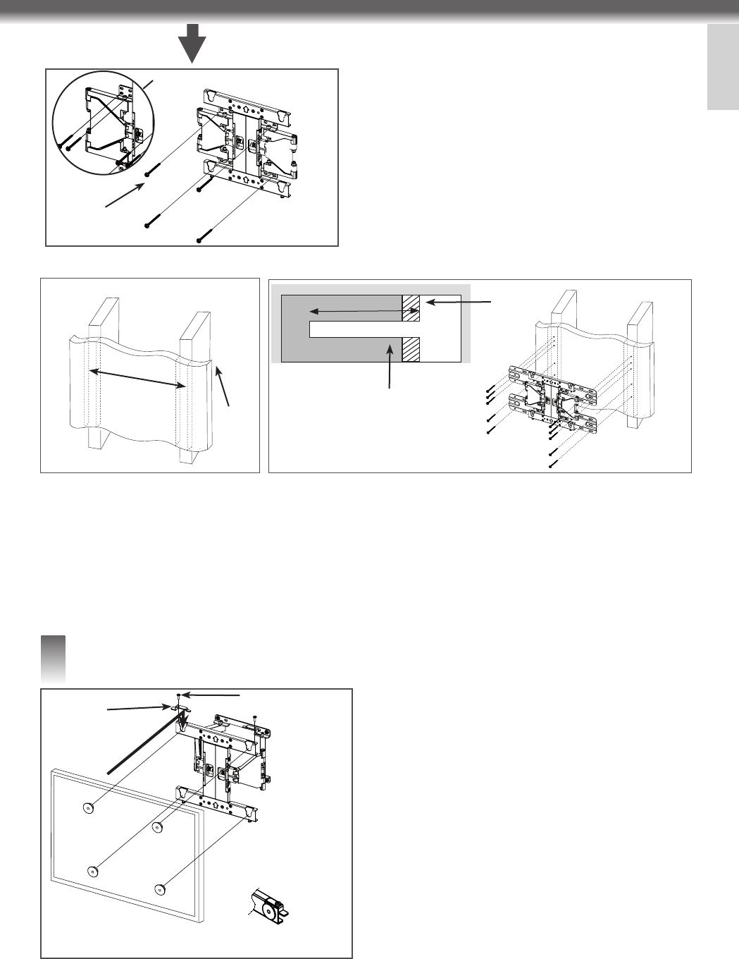 Page 5 of LG Electronics TV Mount LSW400B User Guide