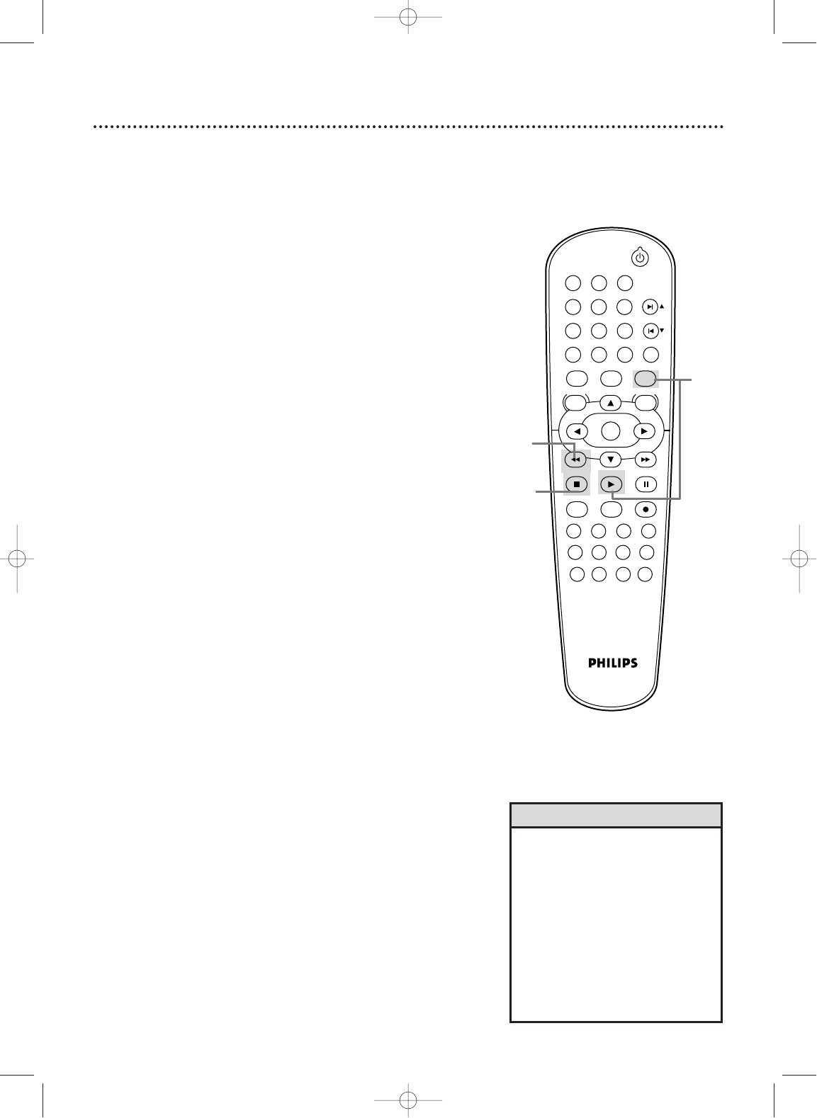 Page 18 of Philips DVD VCR Combo DVD750VR User Guide