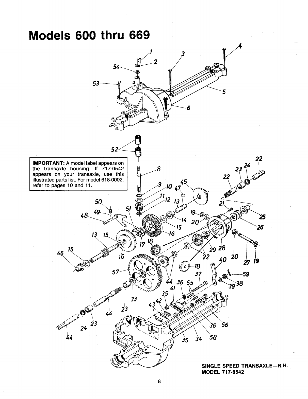 Page 8 of MTD Lawn Mower 600-669 User Guide