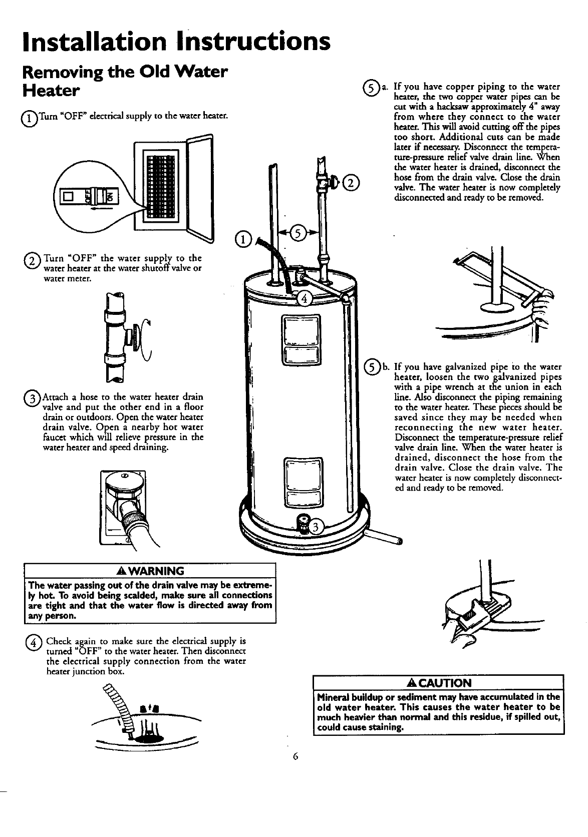 Page 6 of Kenmore Water Heater 153.320690 HT 66 GAL User