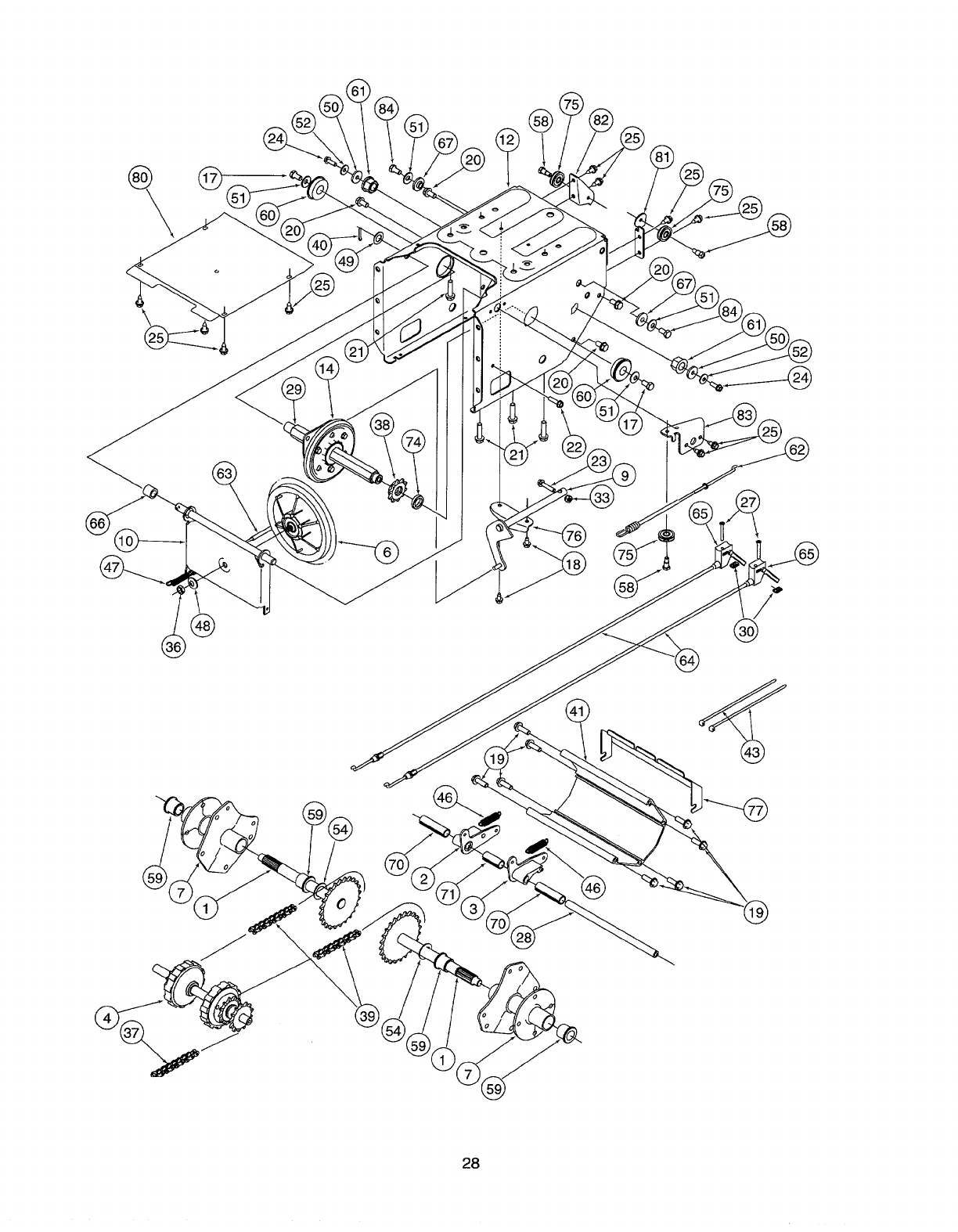 Page 22 of Craftsman Snow Blower 247.885500 User Guide