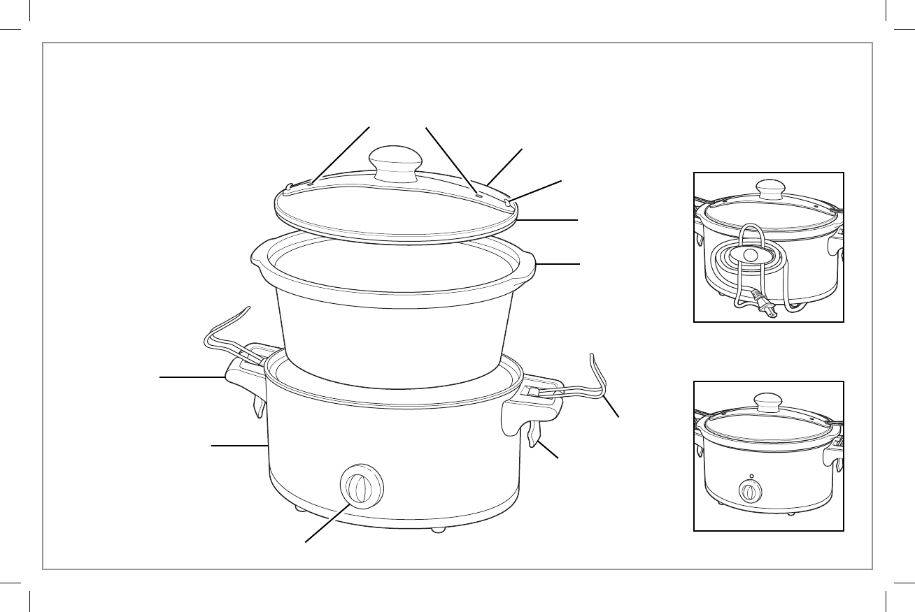 Page 4 of Hamilton Beach Slow Cooker 33245 User Guide