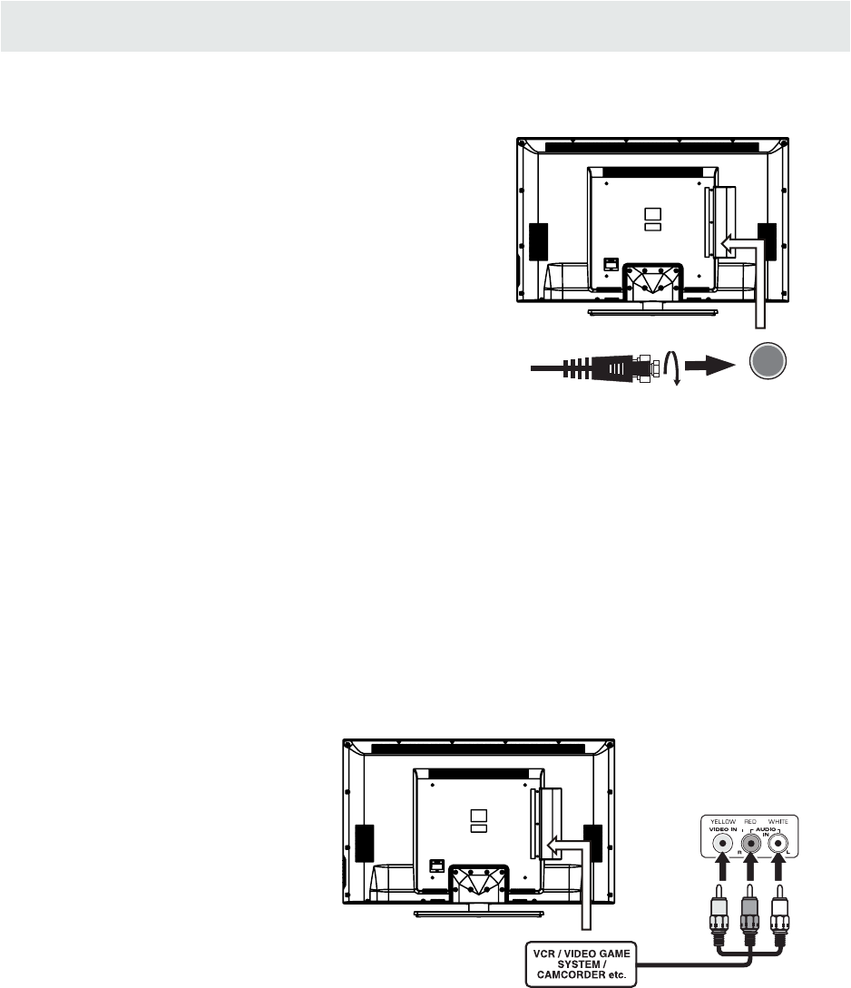 Page 10 of Westinghouse Flat Panel Television CW50T9XW