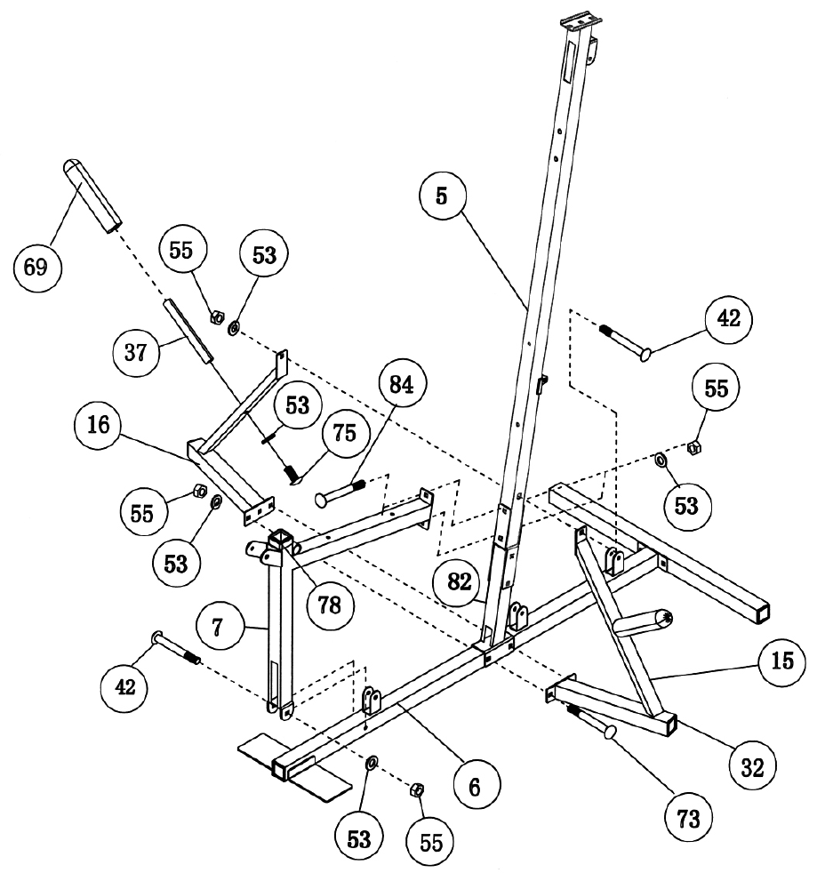 Page 9 of Impex Home Gym CG 1400 User Guide
