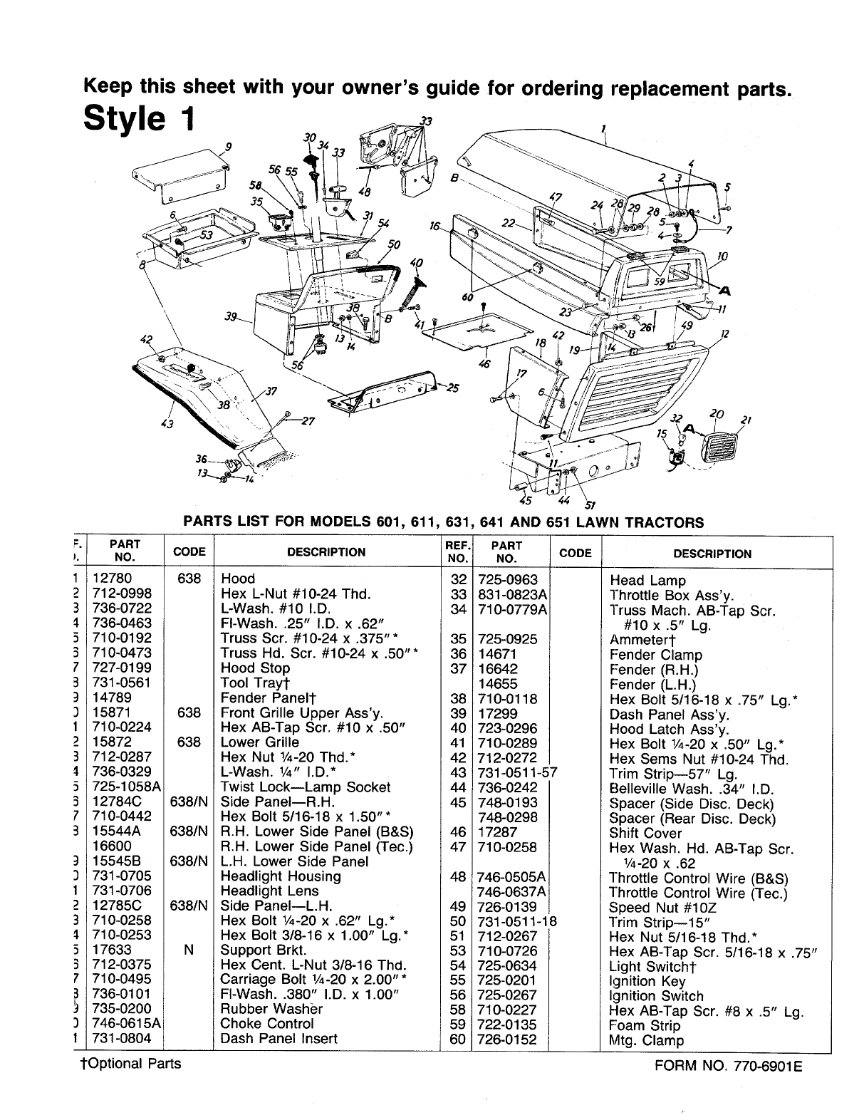 Ford Workmaster 601 Tractor Engine Diagram
