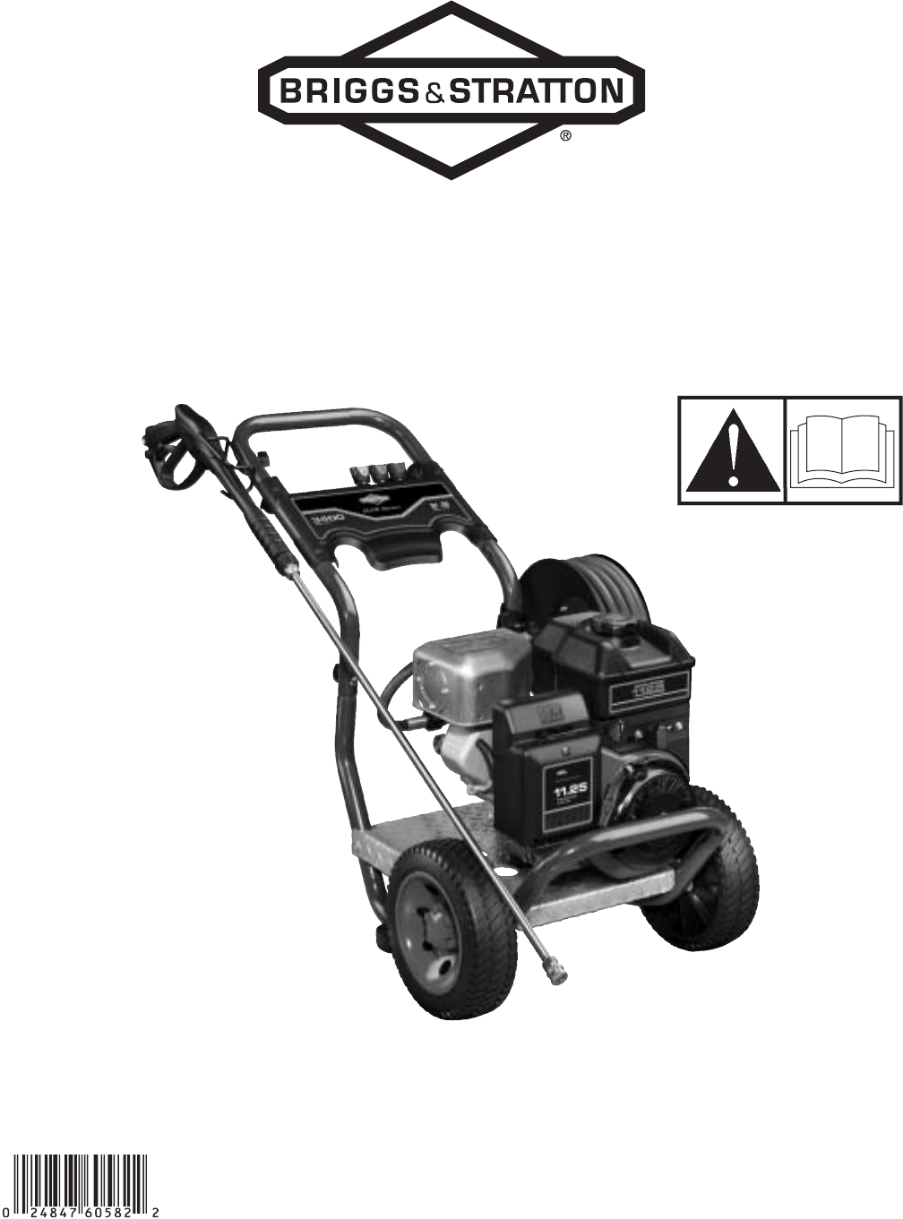 Briggs & Stratton Pressure Washer 020364-0 User Guide