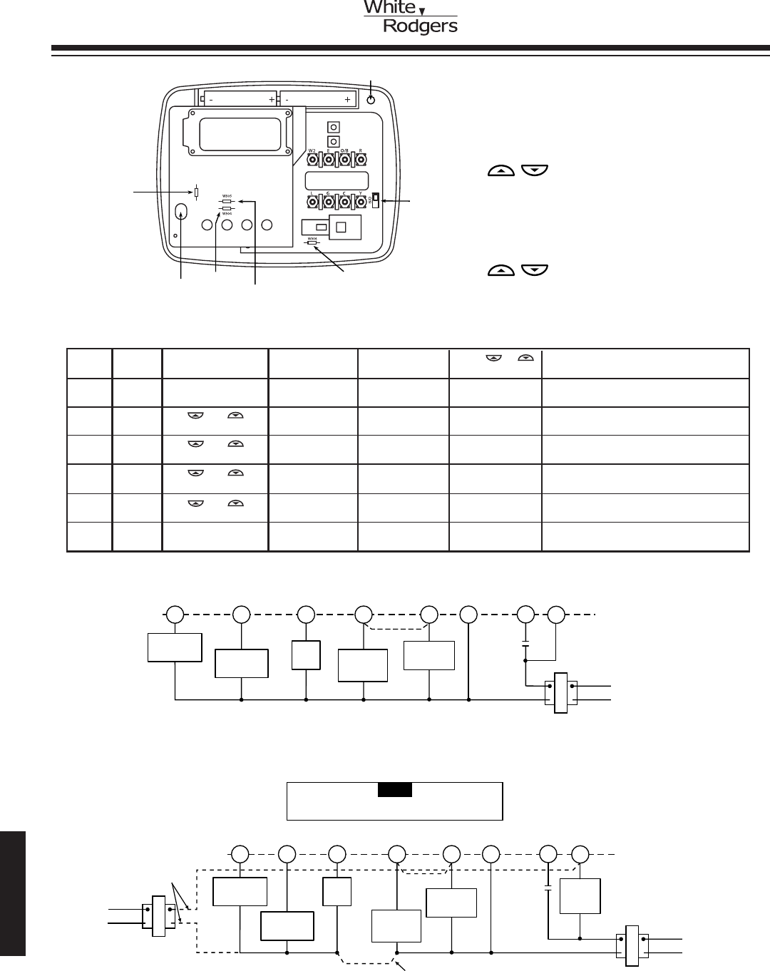white rodgers thermostat wiring diagrams pollak fuel tank selector valve diagram 1f79 44