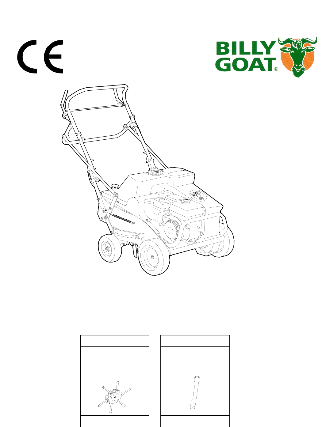 Billy Goat Lawn Mower AE400H, AE450 User Guide