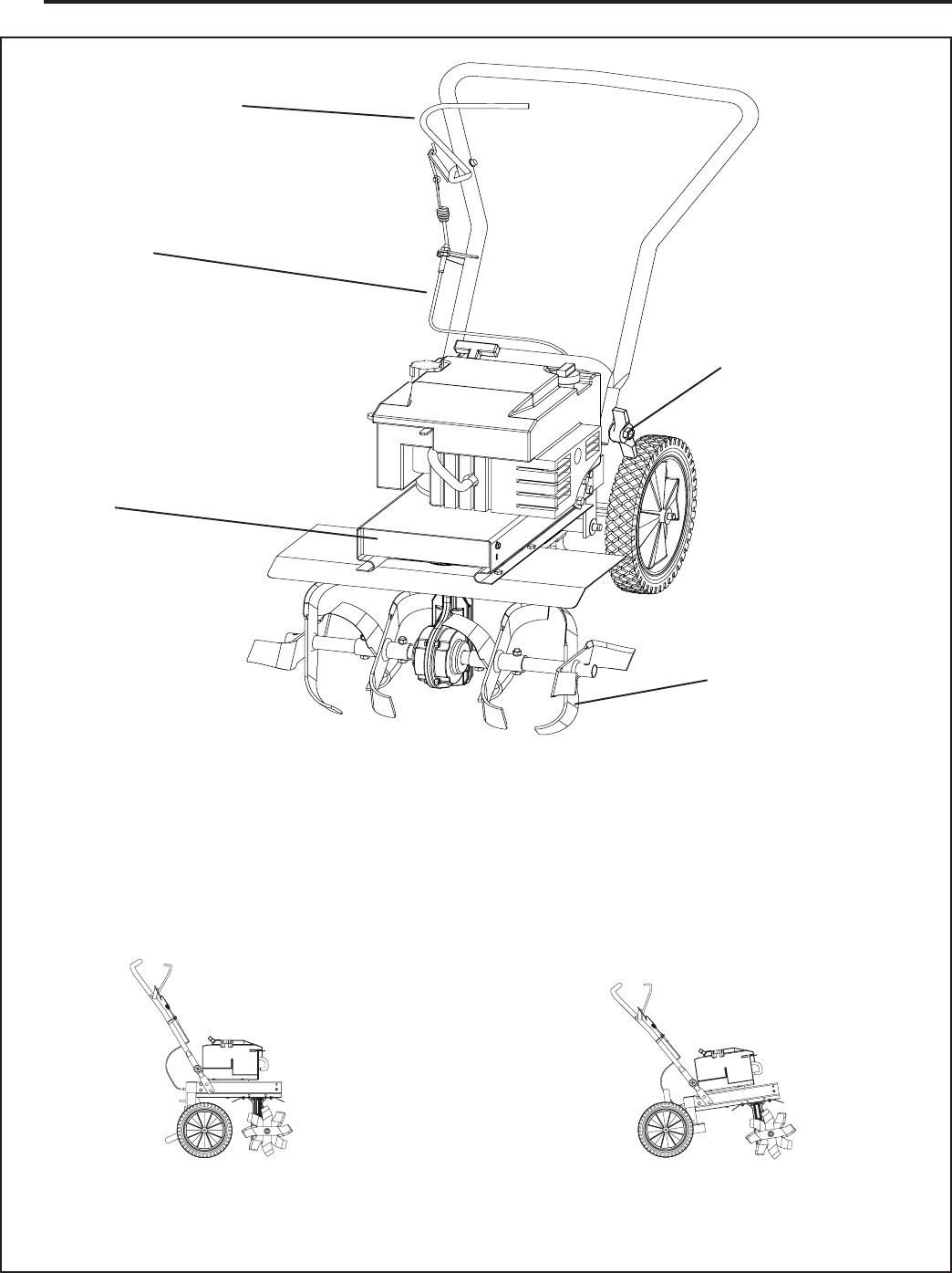 Page 8 of Murray Tiller FT6000X92A User Guide