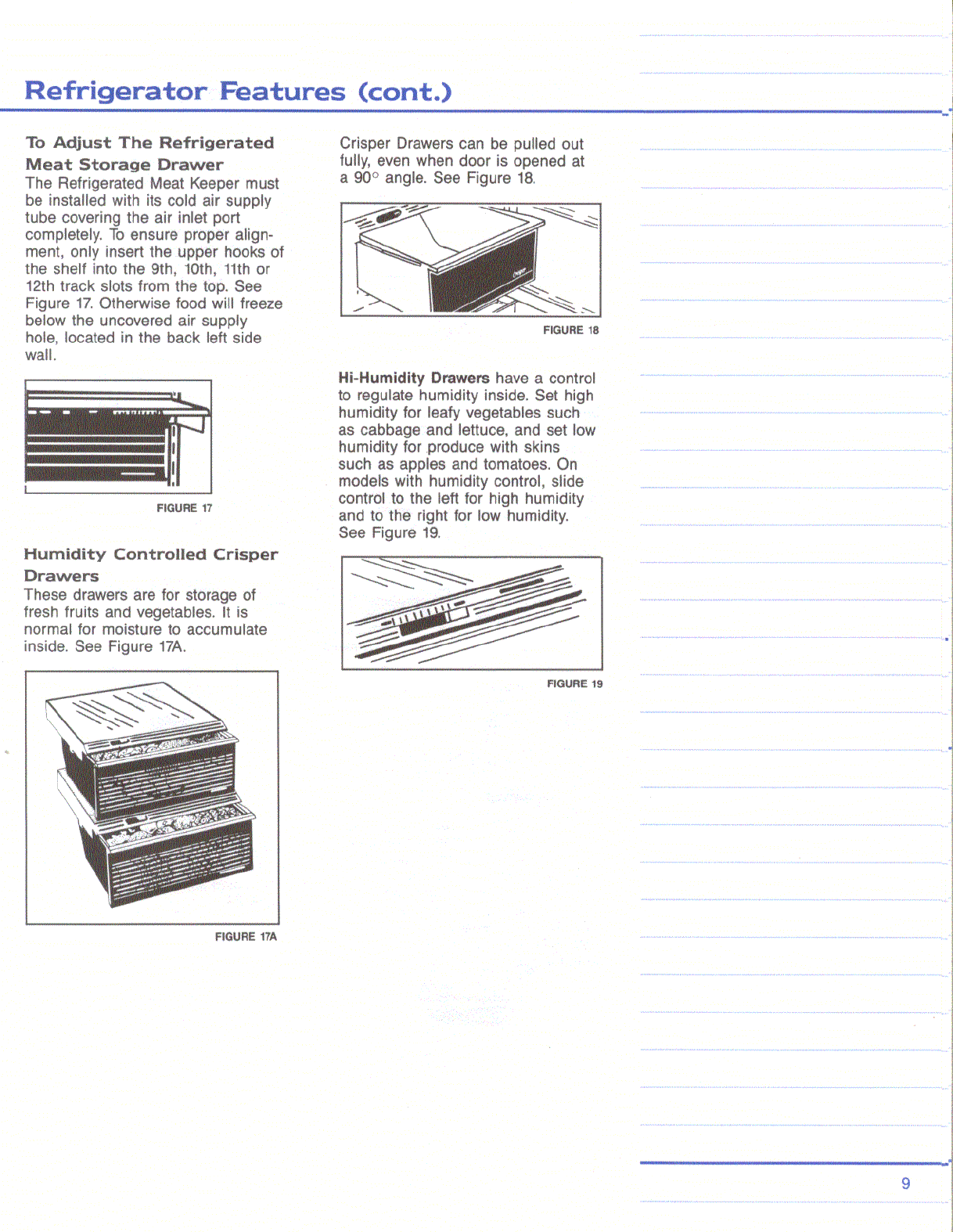 Page 9 of Amana Refrigerator Amana 25 User Guide