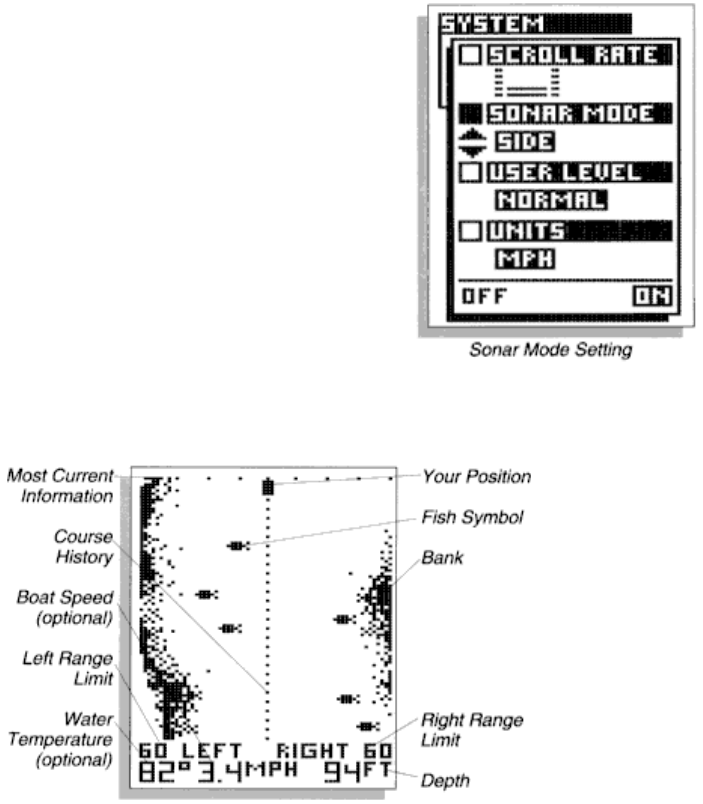 Page 31 of Humminbird Fish Finder Wide Eye User Guide