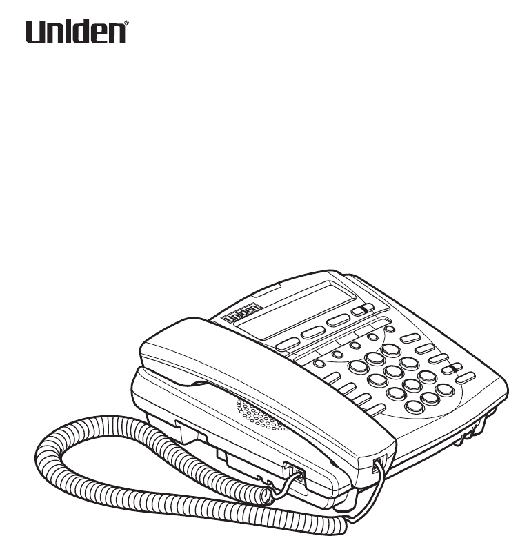 Uniden Cordless Telephone UIP300 User Guide