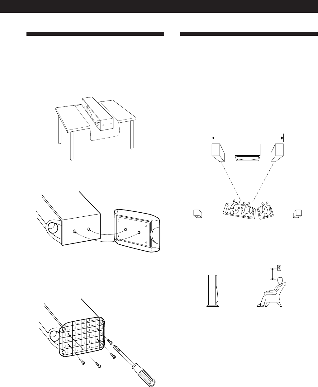 Page 7 of Sony Speaker System SA-VA15 User Guide