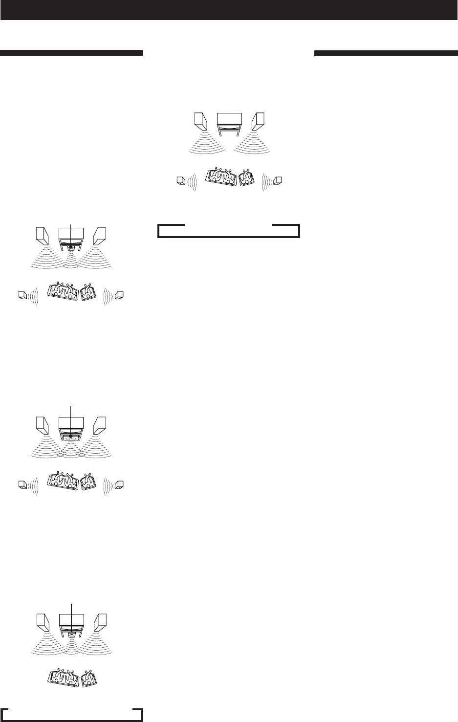 Page 14 of Sony Speaker System SA-VA15 User Guide