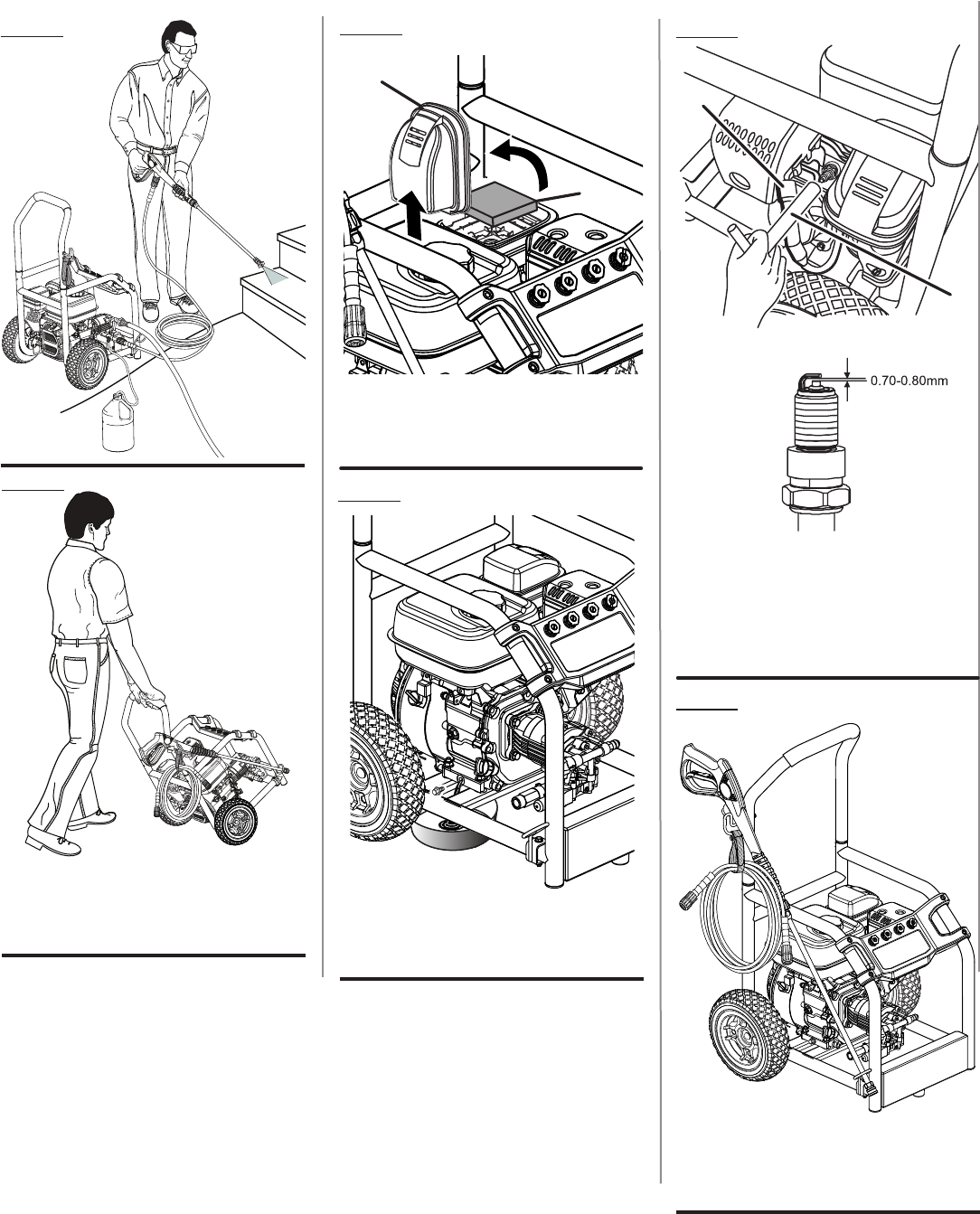 Page 5 of Homelite Pressure Washer UT80522 User Guide