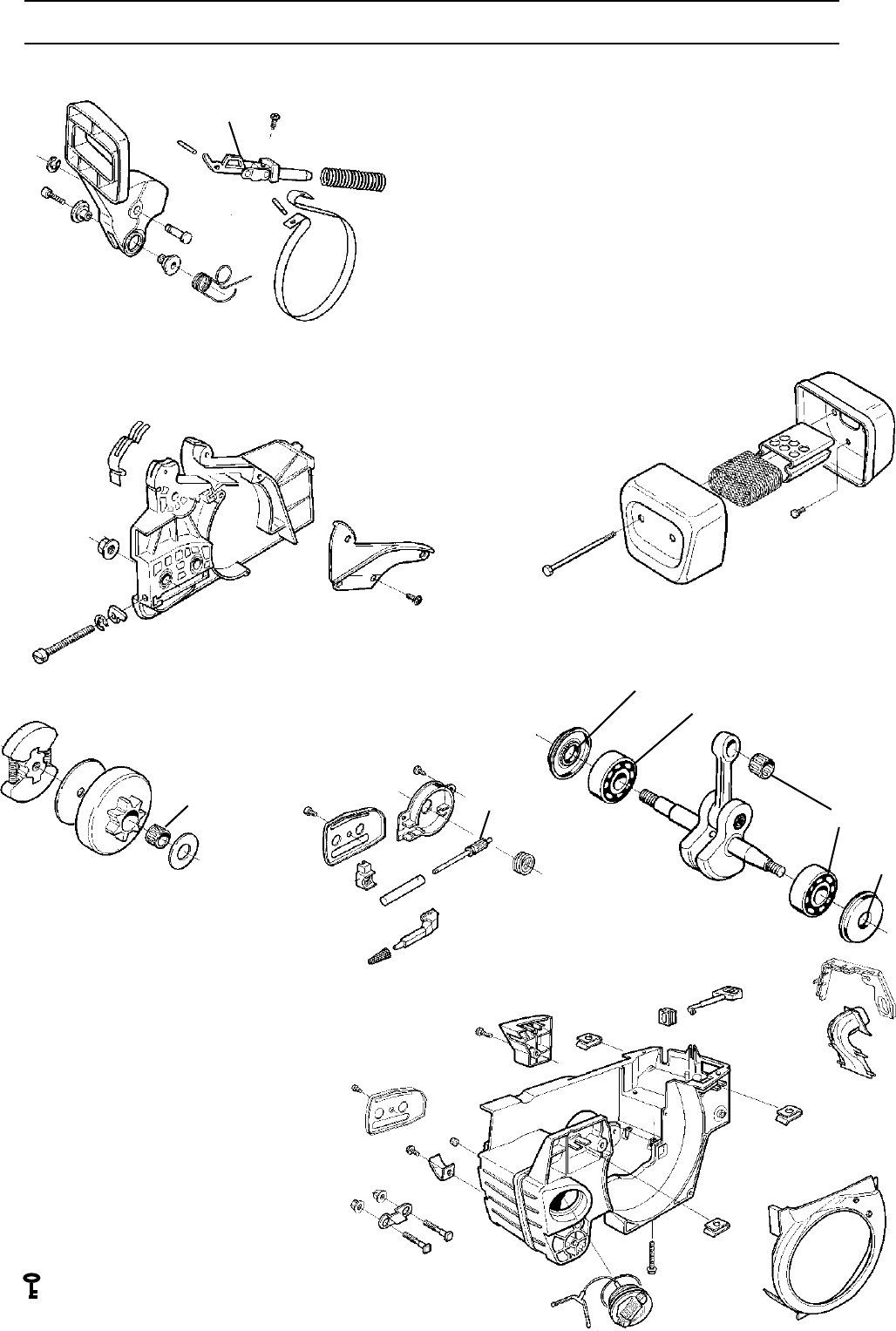 Page 20 of Husqvarna Chainsaw 1018855-26 User Guide