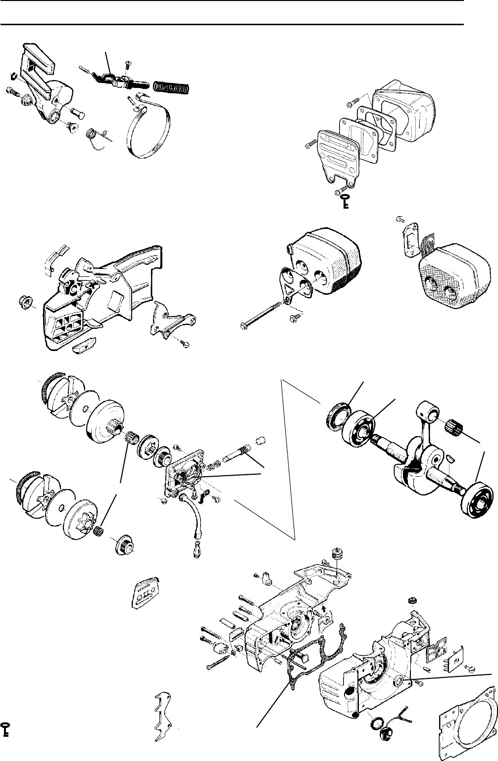 Page 22 of Husqvarna Chainsaw 1018855-26 User Guide