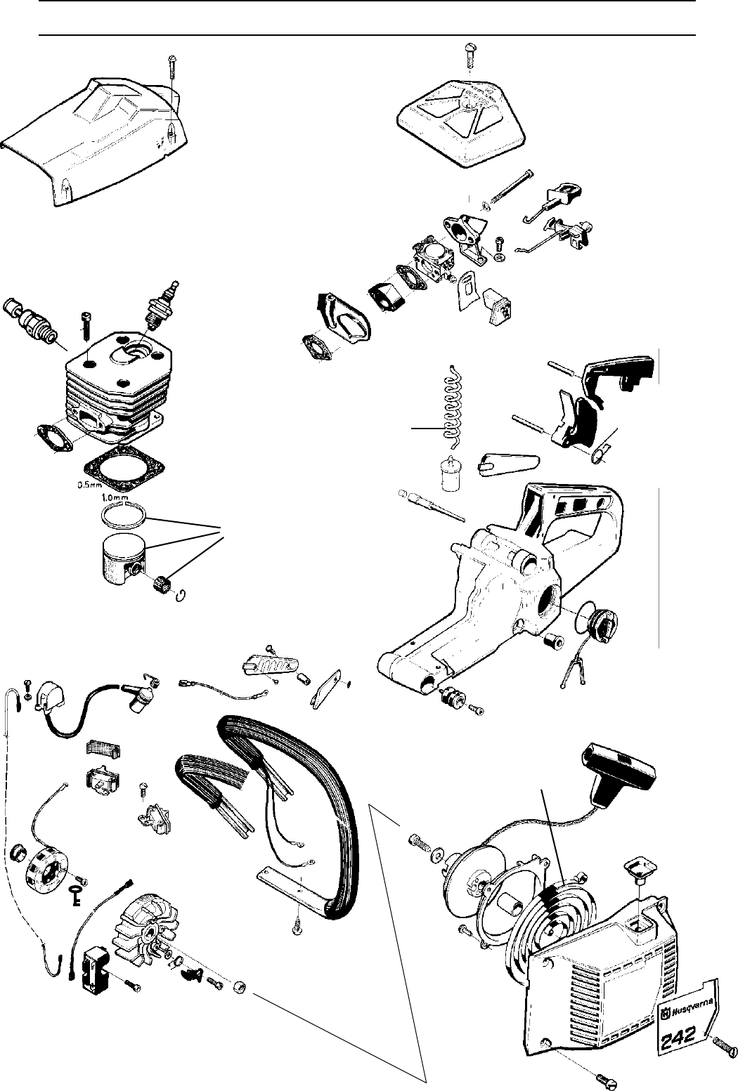 Page 23 of Husqvarna Chainsaw 1018855-26 User Guide