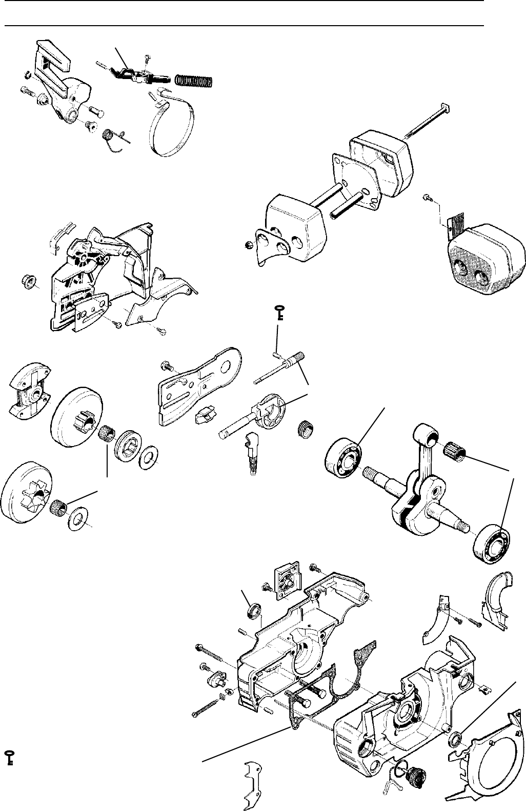 Page 26 of Husqvarna Chainsaw 1018855-26 User Guide