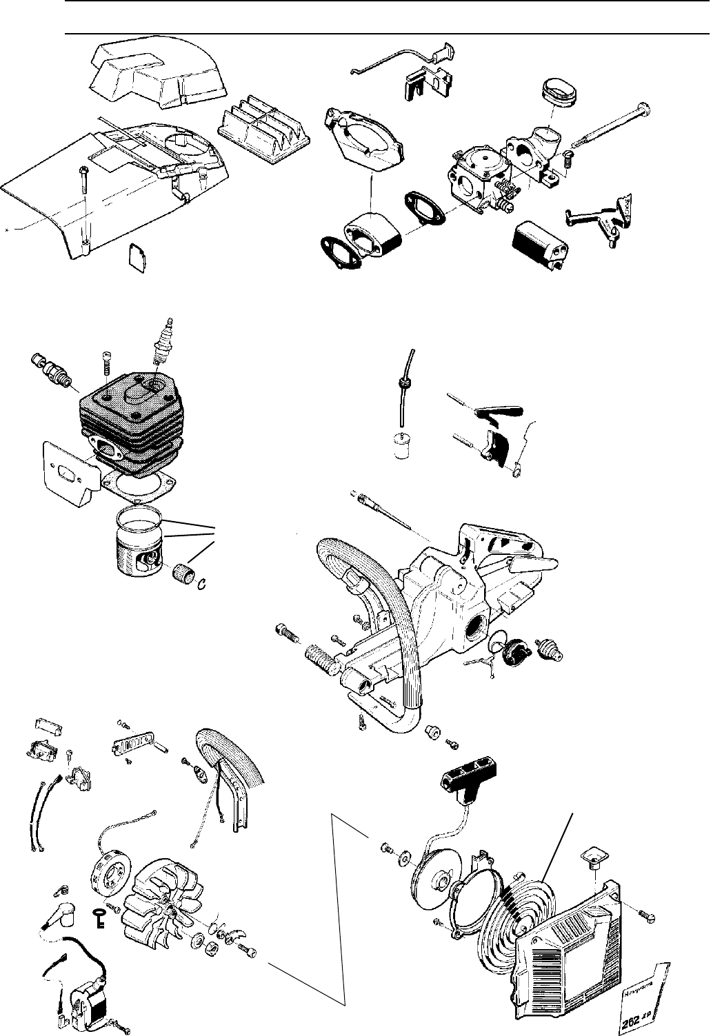 Page 31 of Husqvarna Chainsaw 1018855-26 User Guide