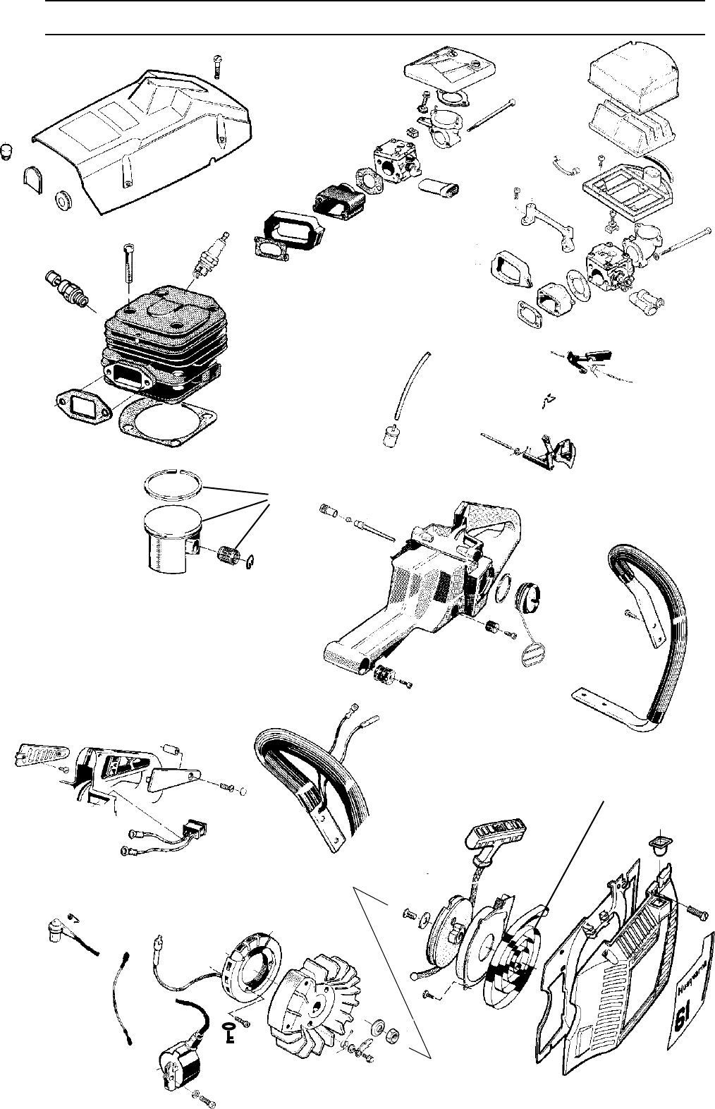 Page 33 of Husqvarna Chainsaw 1018855-26 User Guide