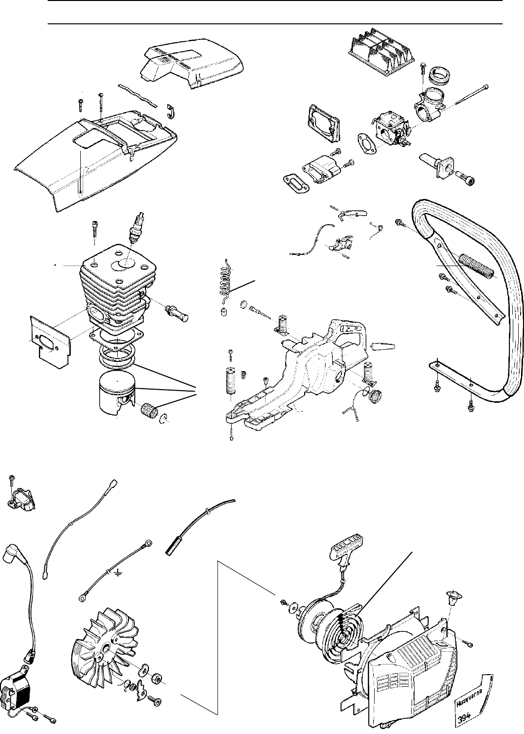 Page 37 of Husqvarna Chainsaw 1018855-26 User Guide