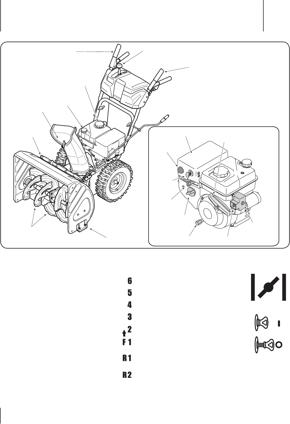 Page 10 of Troy-Bilt Snow Blower 5024 User Guide