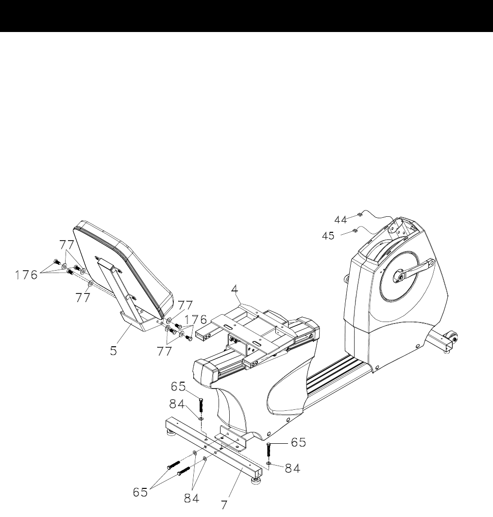 Page 9 of Spirit Exercise Bike CR800 User Guide