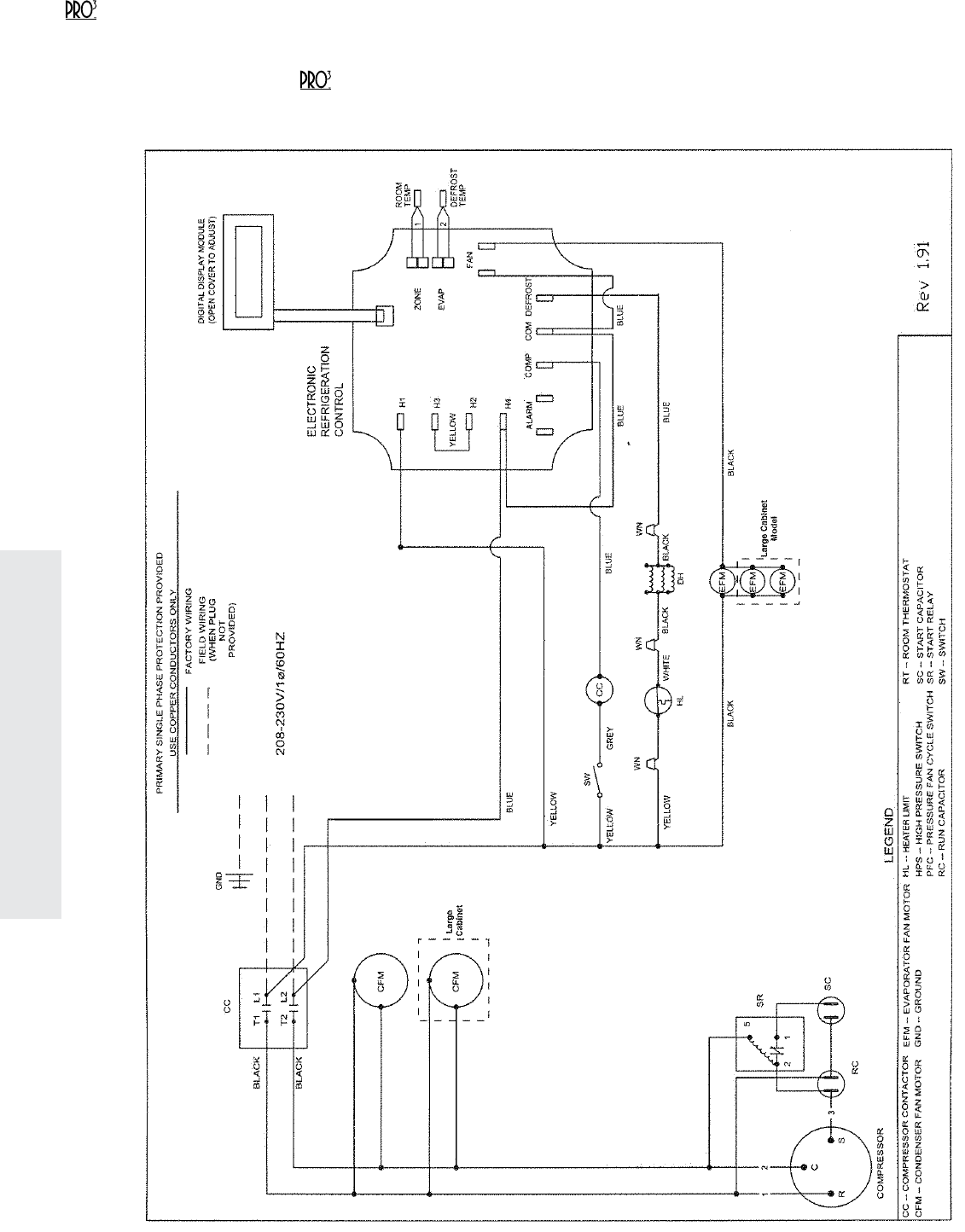 refrigerator thermostat wiring diagram dual boat battery heatcraft evap freezer get free image