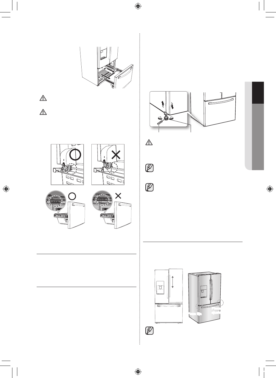 Page 37 of Samsung Refrigerator RF263BEAESR User Guide