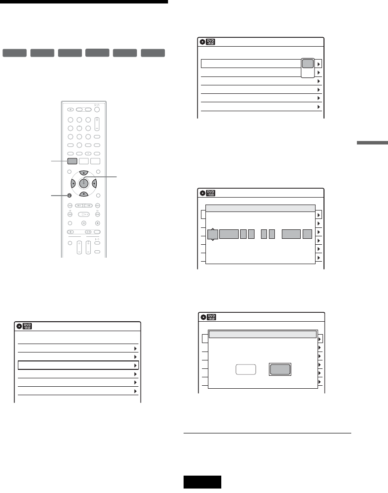 Page 53 of Sony DVD VCR Combo RDR-VX555 User Guide