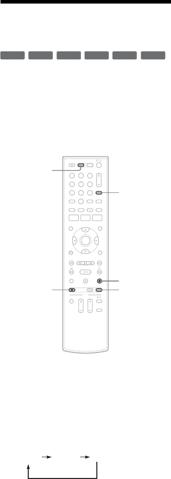 Page 54 of Sony DVD VCR Combo RDR-VX555 User Guide