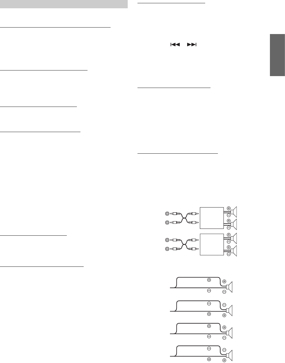 Page 19 of Alpine CD Player CDA-9857 User Guide