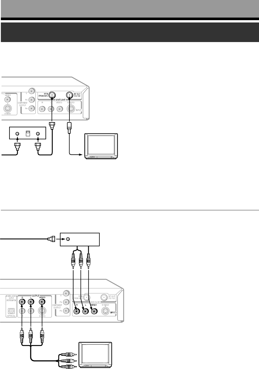 Page 24 of Toshiba DVD VCR Combo D-R4SC User Guide