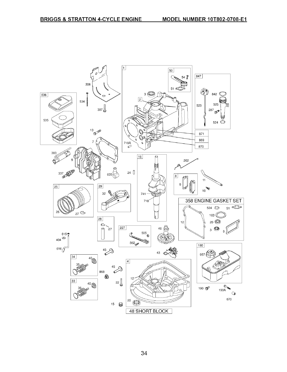 Page 34 of Craftsman Lawn Mower 917.385120 User Guide
