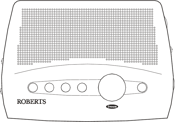 Roberts Radio Clock Radio CR9901 User Guide