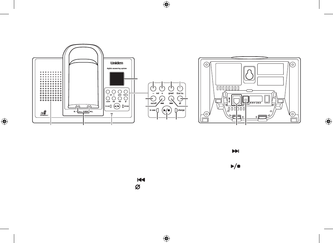Page 9 of Uniden Cordless Telephone WDSS 5335, WDSS 5335