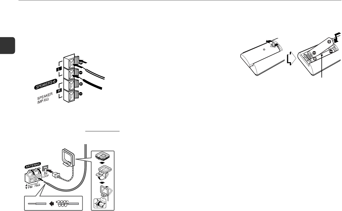 Page 4 of Aiwa Stereo System XR-EM20 User Guide