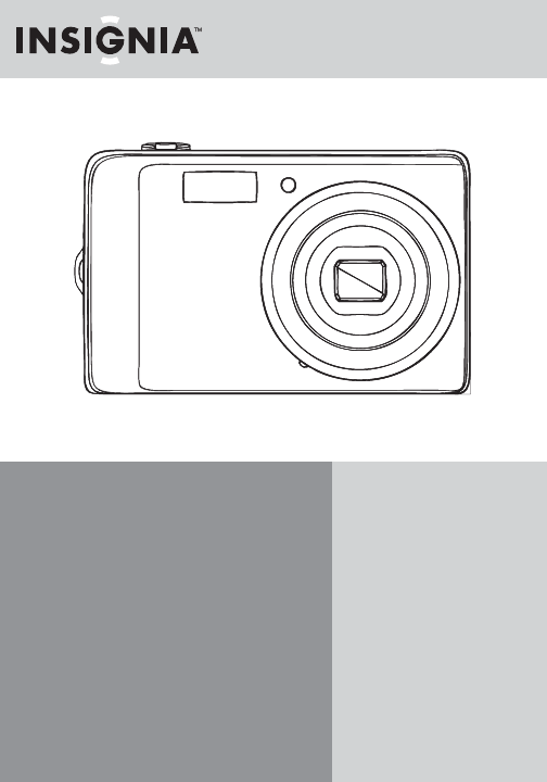 Insignia Digital Camera DSC1112SL-CN User Guide