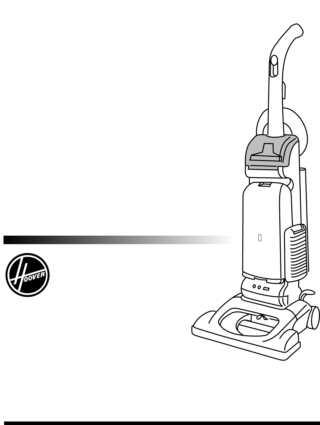 Hoover Vacuum Cleaner WindTunnel vacuum cleaner User Guide
