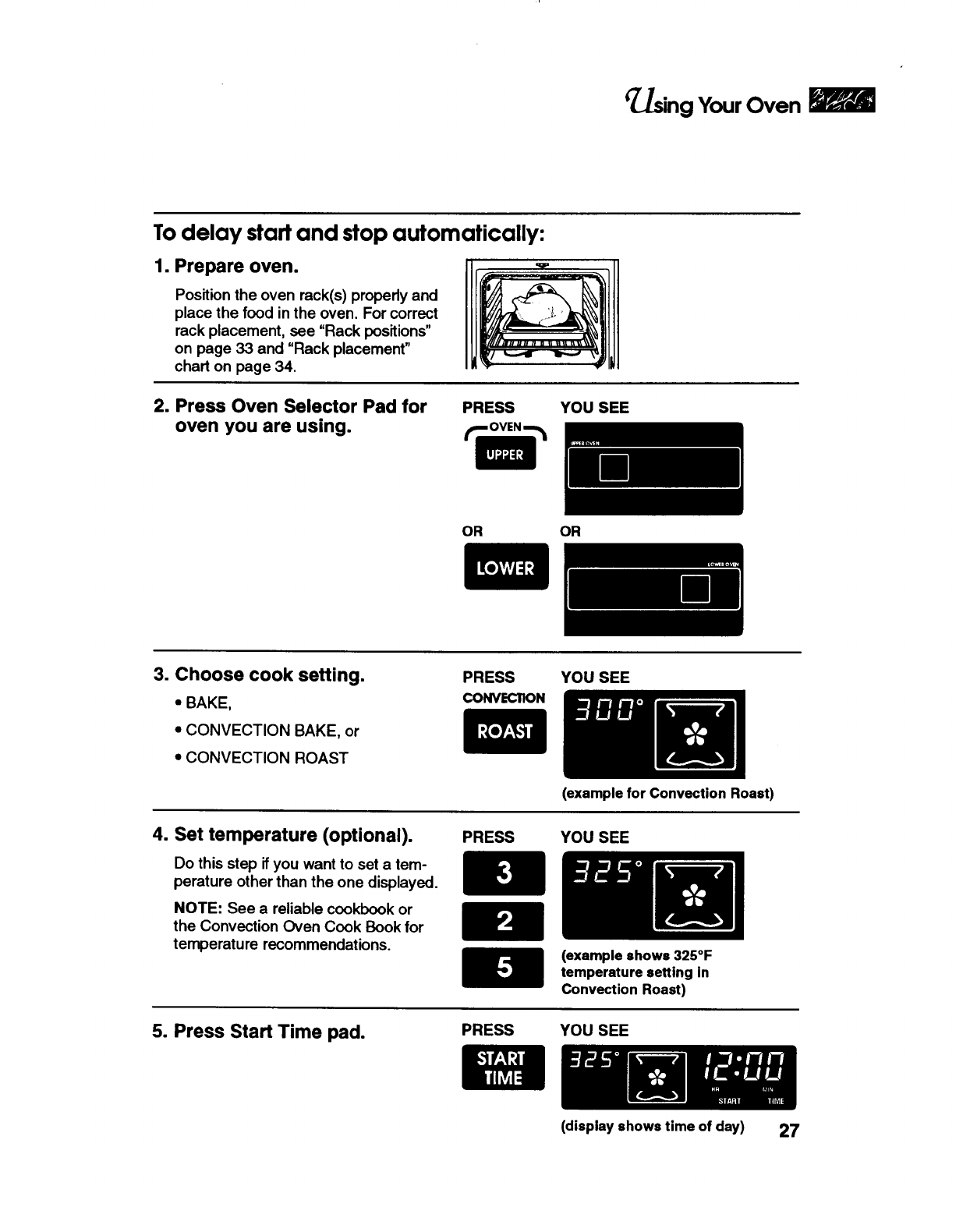 Page 27 of KitchenAid Convection Oven KEBS208B User Guide