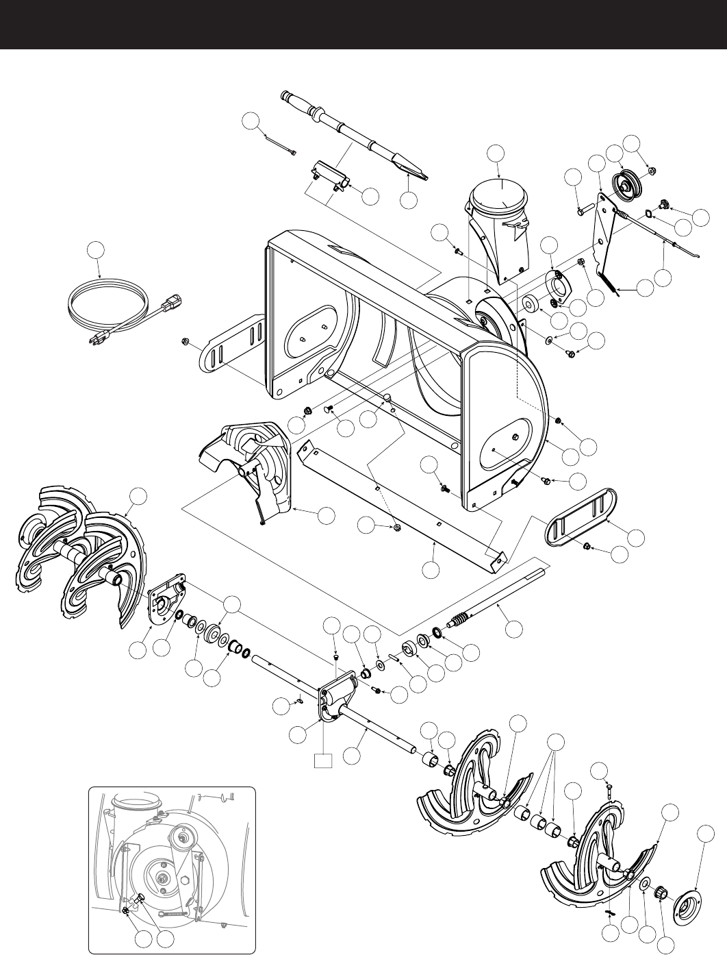 Page 26 of Craftsman Snow Blower 247.8819 User Guide