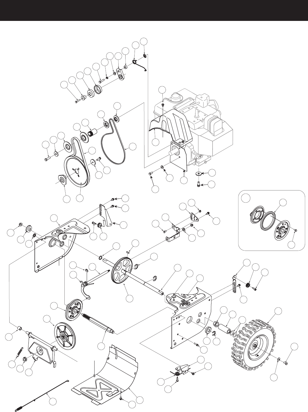 Page 30 of Craftsman Snow Blower 247.8819 User Guide