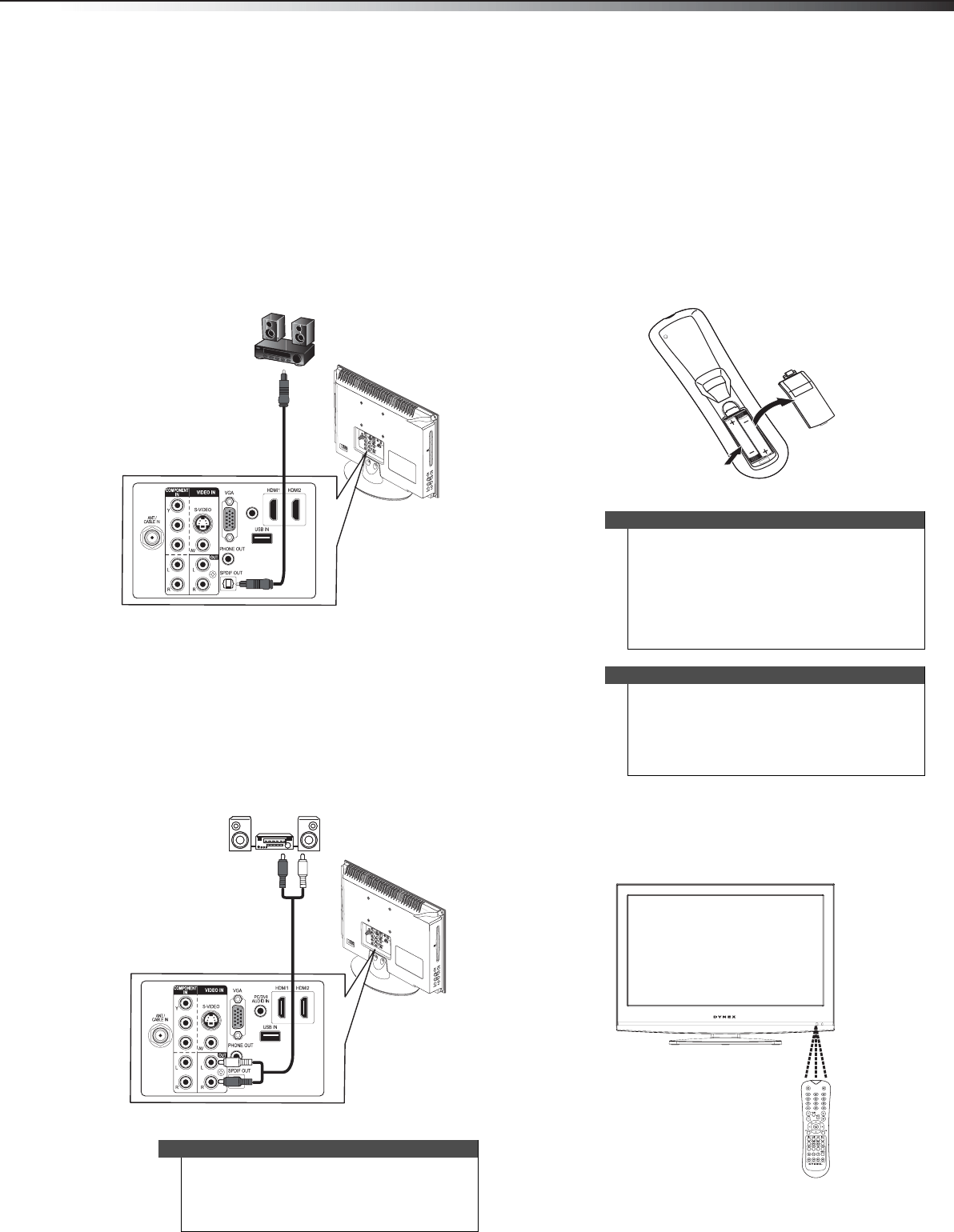 Page 19 of Dynex Flat Panel Television DX-19LD150A11 User