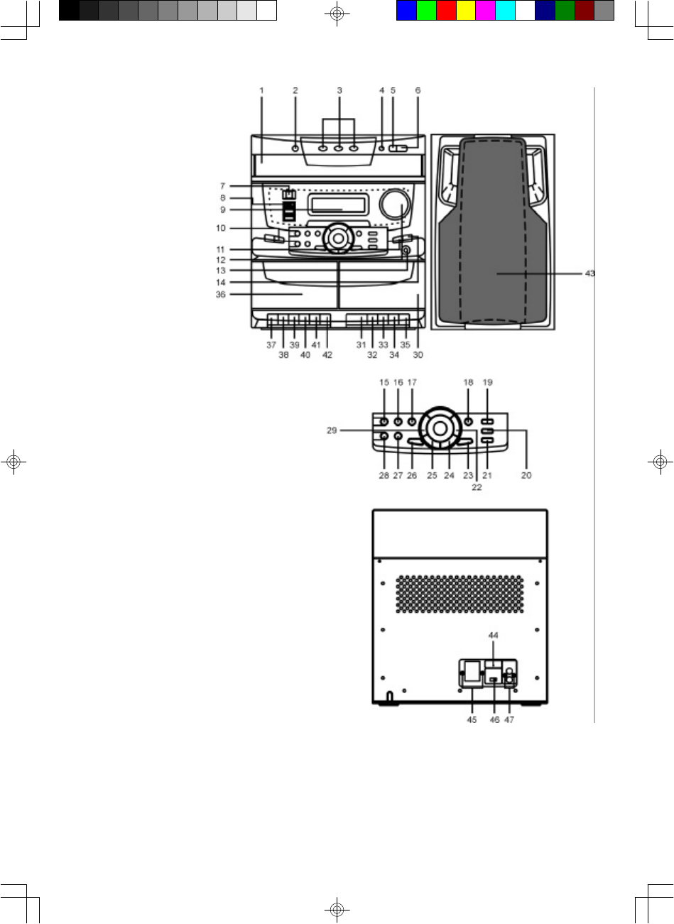 Page 6 of Memorex Stereo System MX5310 User Guide