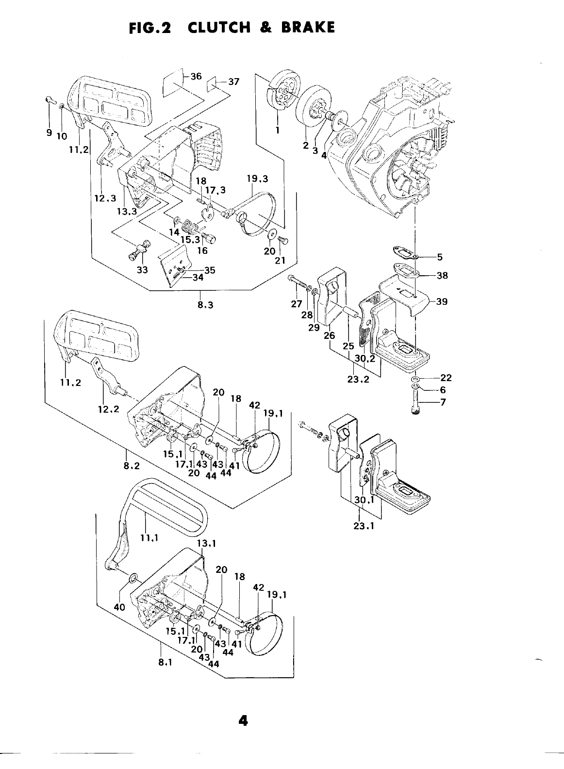 Page 5 of Tanaka Chainsaw ECS-370 User Guide